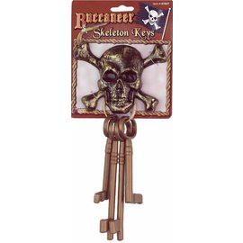 Forum Novelties Buccaneer Skeleton Keys