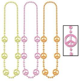 Forum Novelties Peace Beads Set Of Three (C3)