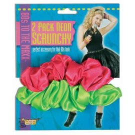 Forum Novelties Neon Scrunchies 2 Pack
