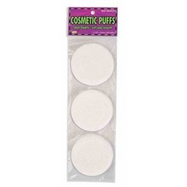 Forum Novelties Cosmetic Puffs (3 Pack)