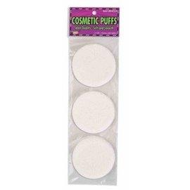 Forum Novelties Cosmetic Puffs (3 Pack)