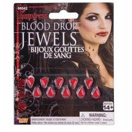 Forum Novelties Vampiress Blood Drop Jewels (C15)