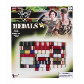 Forum Novelties Ribbon Bar Medals