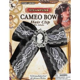 Forum Novelties Cameo Bow Hair Clip (C13)