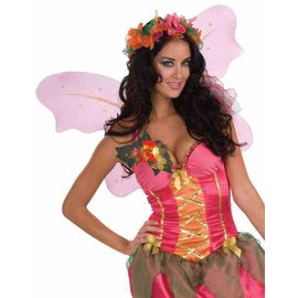 Forum Novelties Fantasy Fairies Autumn Flower Pin