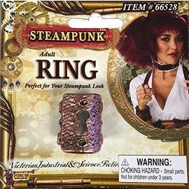 Forum Novelties Ring, Key Hole- Steampunk (C13)