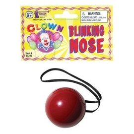 Forum Novelties Blinking Clown Nose