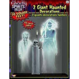 Forum Novelties Ghostly Wall Decoration 4 foot x 5 foot (/516)