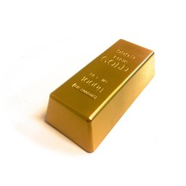 Replica Gold Bar Prop - Hollow