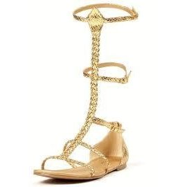 Ellie Shoes Cairo Gladiator Shoes - Size 9
