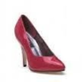 Ellie Shoes Shoes - Pumps 4 Inch Heel  Red Size 8