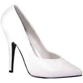 Ellie Shoes Shoes - Pumps 4 Inch Heel  White Size 7