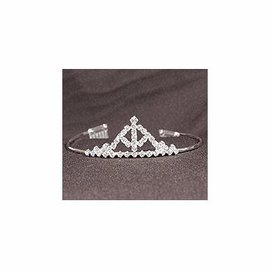 Center Stage Design Rhinestone Tiara 41662