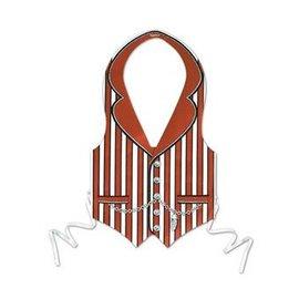United Mask And Novelty Vest Roaring 20s - Fiber 3046