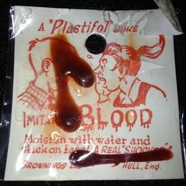 Brownings Ltd. Hull England Blood Drippings