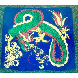 India Silk - 36 inch Dragon (M11)