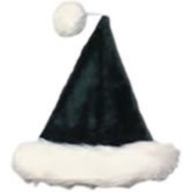 Halco Santa Hat Velvet Plush Green