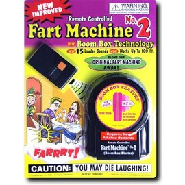 T.J. Wiseman LTD Remote Controlled Fart Machine #2