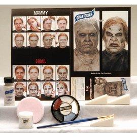 Graftobian Make-Up Company Zombie / Mummy Theatrical Make-Up Kit (C3)