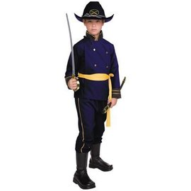 RG Costumes And Accessories Union Officer - Child Large
