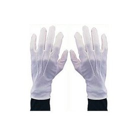 Beyco White Gloves With Snap Large