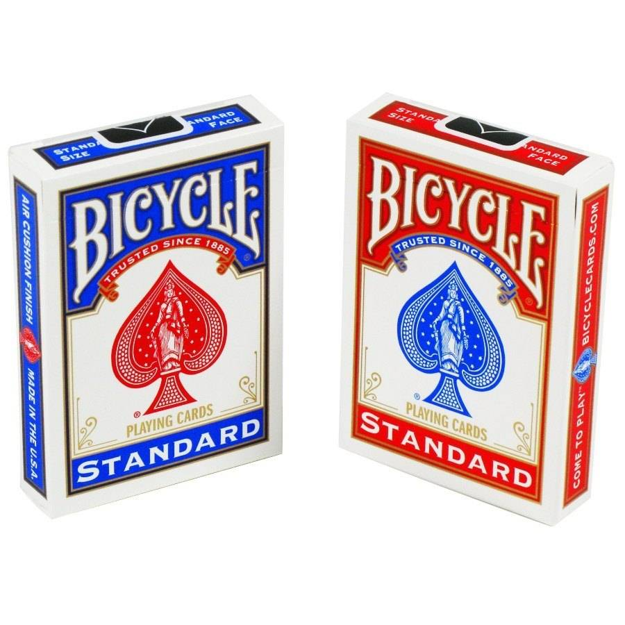United States Playing Card Company Card - Bicycle, Poker - Blue ...