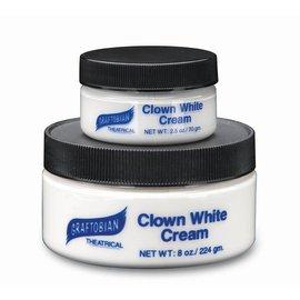 Graftobian Make-Up Company Clown White Cream 2.5 oz.