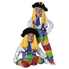 Rubies Costume Company Rainbow Clown - Toddler 2-4
