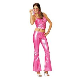 Rubies Costume Company Pink Disco Girl medium