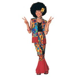 Rubies Costume Company Flower Power Child Med 8-10