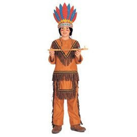 Rubies Costume Company Native American Boy - Child Med 8-10