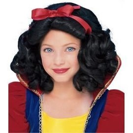 Rubies Costume Company Snow White Child Wig