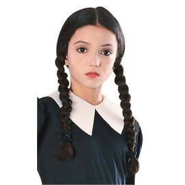 Rubies Costume Company Wednesday Wig - New Addams Family Series