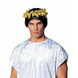 Costume Culture by Franco American Gold Roman Wreath Leaf Headpiece (C15)