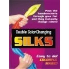 Trickmaster Magic Double Color Changing Silks - Standard (M10)