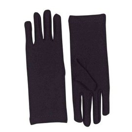 Forum Novelties Gloves Wrist, Black - Adult