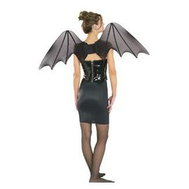 Rubies Costume Company Chiffon Bat Wings Light and Full 36 inch wide 2 feet tall
