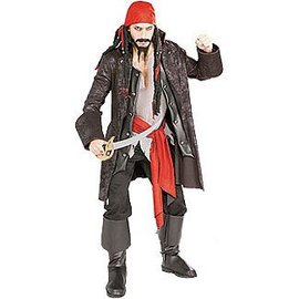 Rubies Costume Company Captain Cutthroat - Standard size fits up to a 44