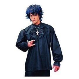 Costume Culture by Franco American Ruffled Shirt - Black