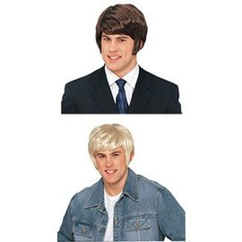 Costume Culture by Franco American 70's Dude Wig - Blonde