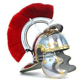 Crested Roman Centurion Helmet - Replica