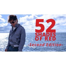 Shin Lim Card -  52 Shades of Red, Gimmicks Included - Version 2 by Shin Lim