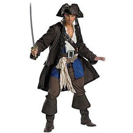 Disguise Captain Jack Sparrow, Prestige - Adult XL 42-46