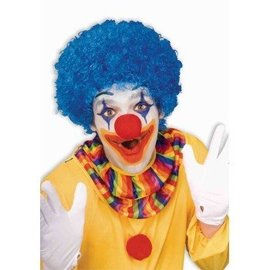 Forum Novelties Blue Clown Afro Wig