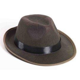 Forum Novelties Hat - Fedora, Brown