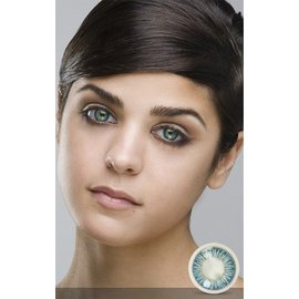 Fine And Clear Blue Contact Lenses (C2)