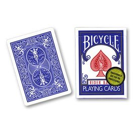 U.S. Playing Card Company Card Bicycle, Gold Standard - Blue by Richard Turner - Trick