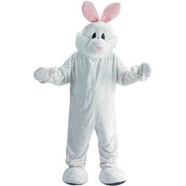 Dress Up America Cozy Easter Bunny Mascot - Adult