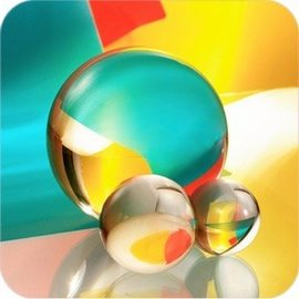 Amlong Crystal Clear Crystal Ball 3 inch - 80mm (901)