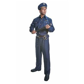 Dress Up America Police Man Adult Large